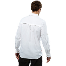 Craghoppers NosiLife Adventure - Camiseta de manga larga Hombre - blanco